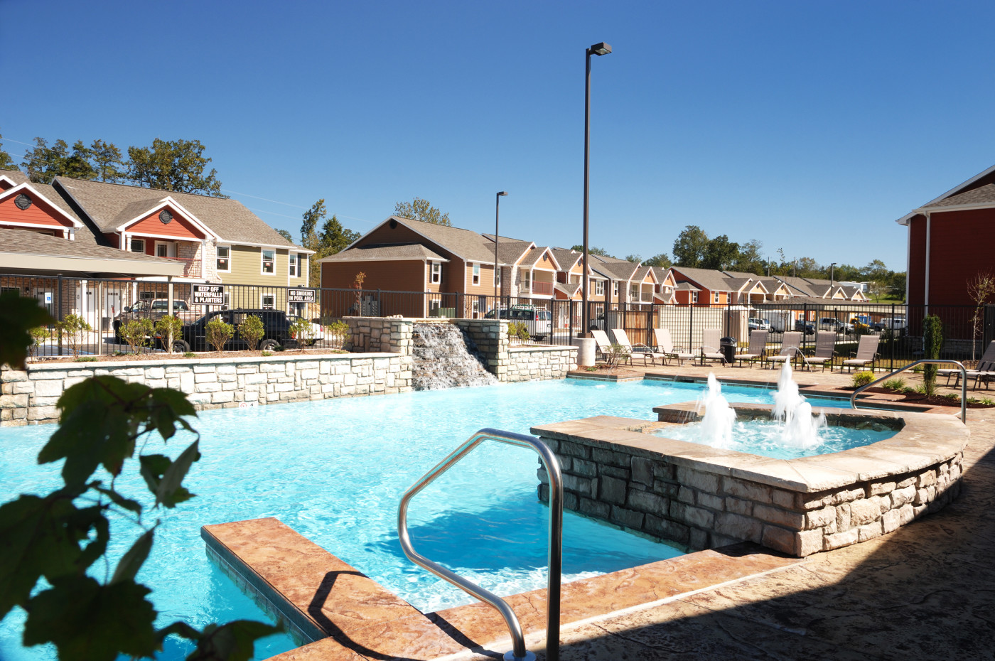 Bee Creek Apartments Pool