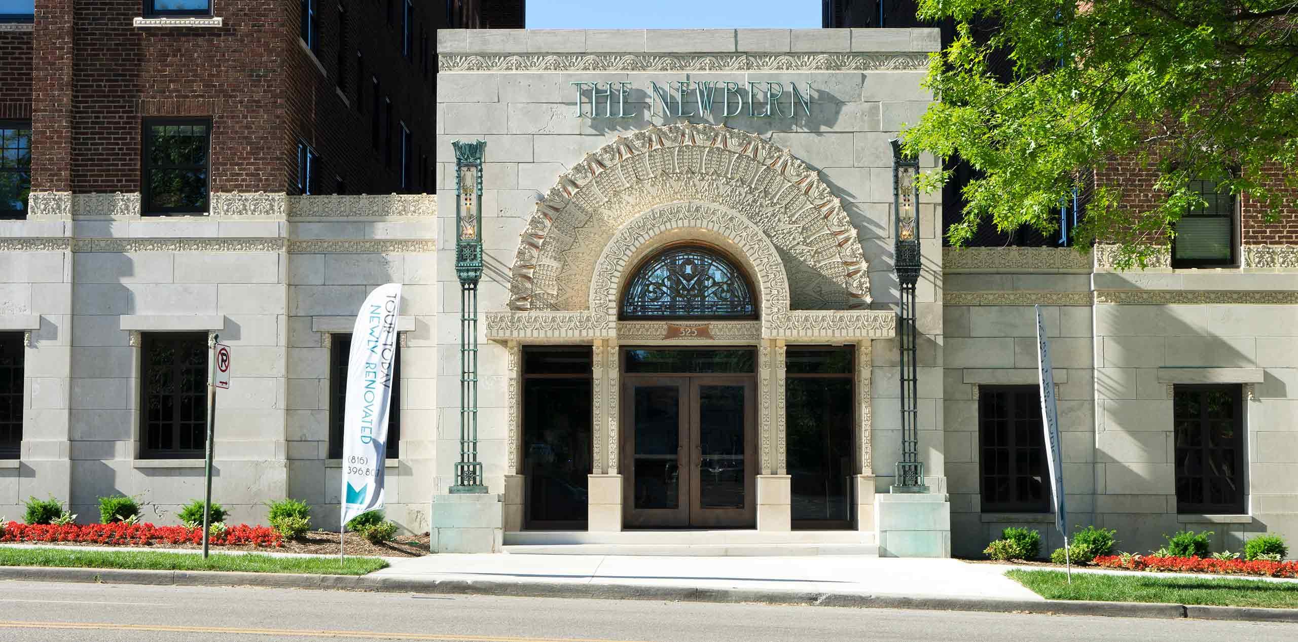 Newbern-Apartments-Front-Door