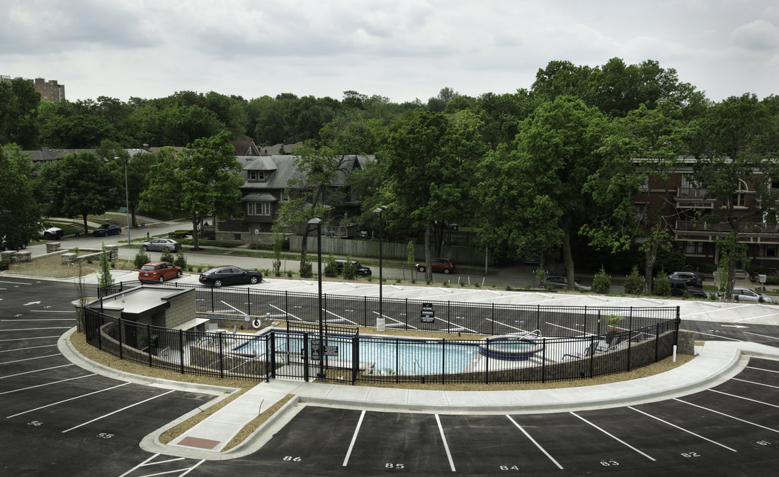 Norman School Lofts Pool