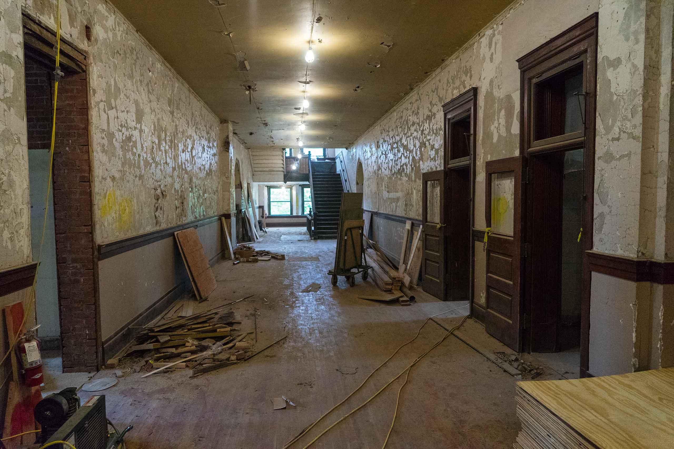 Norman-School-Lofts-Hallway-Before